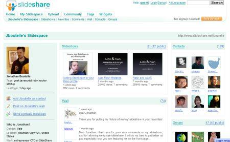 slideshare パワーポイント版youtubeと呼ばれるプレゼン共有サイト